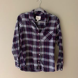 Forever 21 Plaid Flannel